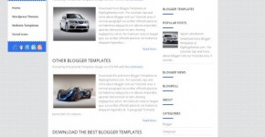 Business 2 Columns Blogger Template