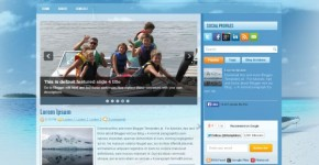 BoatBlue Travel Blogger Theme