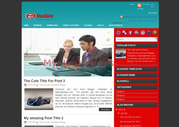 Sharedollor myblogthemes sharedollor business blogger theme cheaphphosting Images