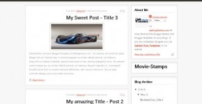 MovieStamps Business Blogger Theme