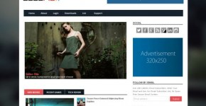 Soloris Responsive Blogger Template Download