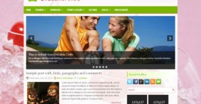 Health Diet Blogger Theme