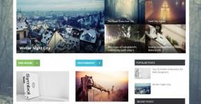 Online Magazine Blogger Theme