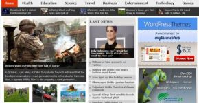News Free Blogger Template