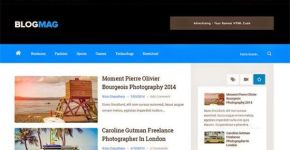 Free News Responsive Blogger Template