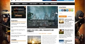 Games Blogger Style Template