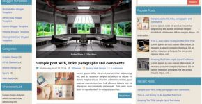 Free Responsive Business Blogger Theme