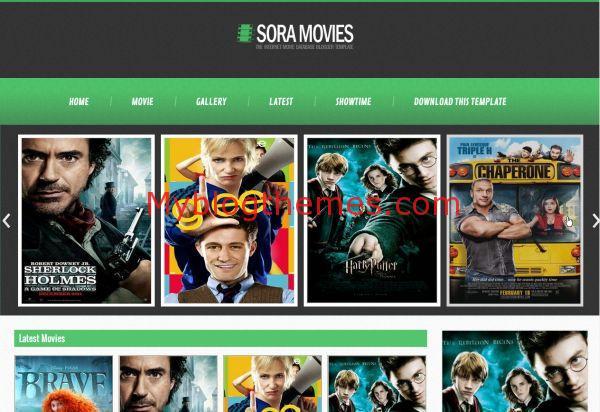 Movies Blogger Theme