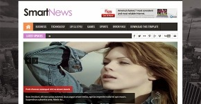 News Grunge Blogger Theme