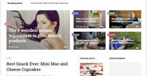 Magazine Responsive Blogger Theme