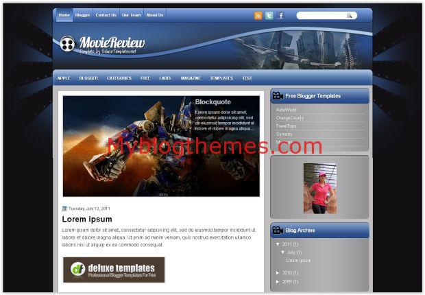 Movies review myblogthemes business elegant blogger template wajeb Images