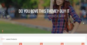 Commerce Store Blogger Template