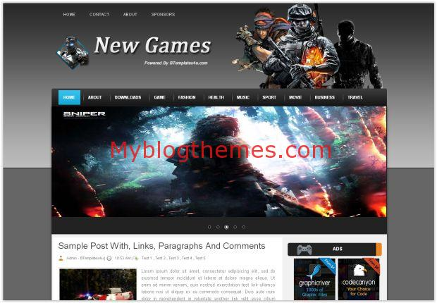 Super Mario - Myblogthemes