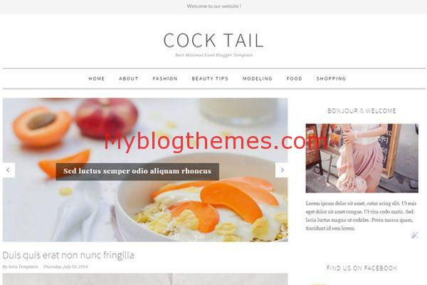 Clean and simple myblogthemes clean responsive simple blogger template wajeb Image collections