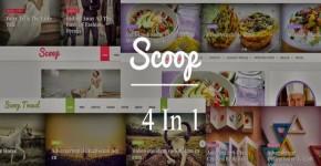 Four Responsive Blogger Templates