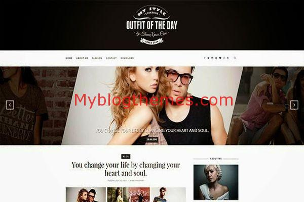Responsive Portfolio Blogger Template