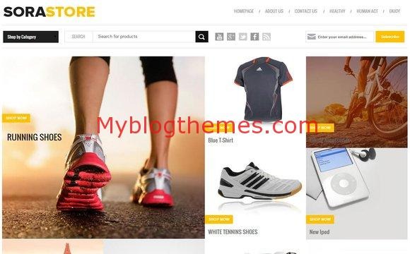 Responsive Blogger Store Template