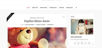 Responsive Personal Blogger Theme