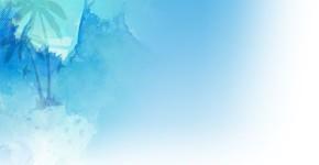 Grunge Blue Twitter Background Template