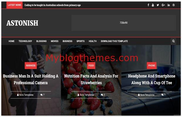 Dark black red blogger template myblogthemes responsive dark black red blogger template fbccfo Image collections