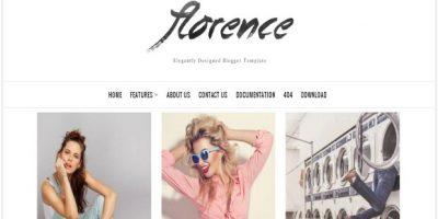 Responsive Minimalist Fashion Blogger Template