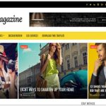 Yellow Free Blogger Responsive Magazine Template